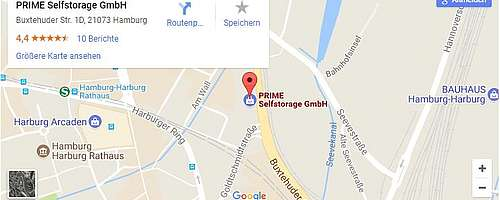 Google Maps: StandortHamburg-Harburg